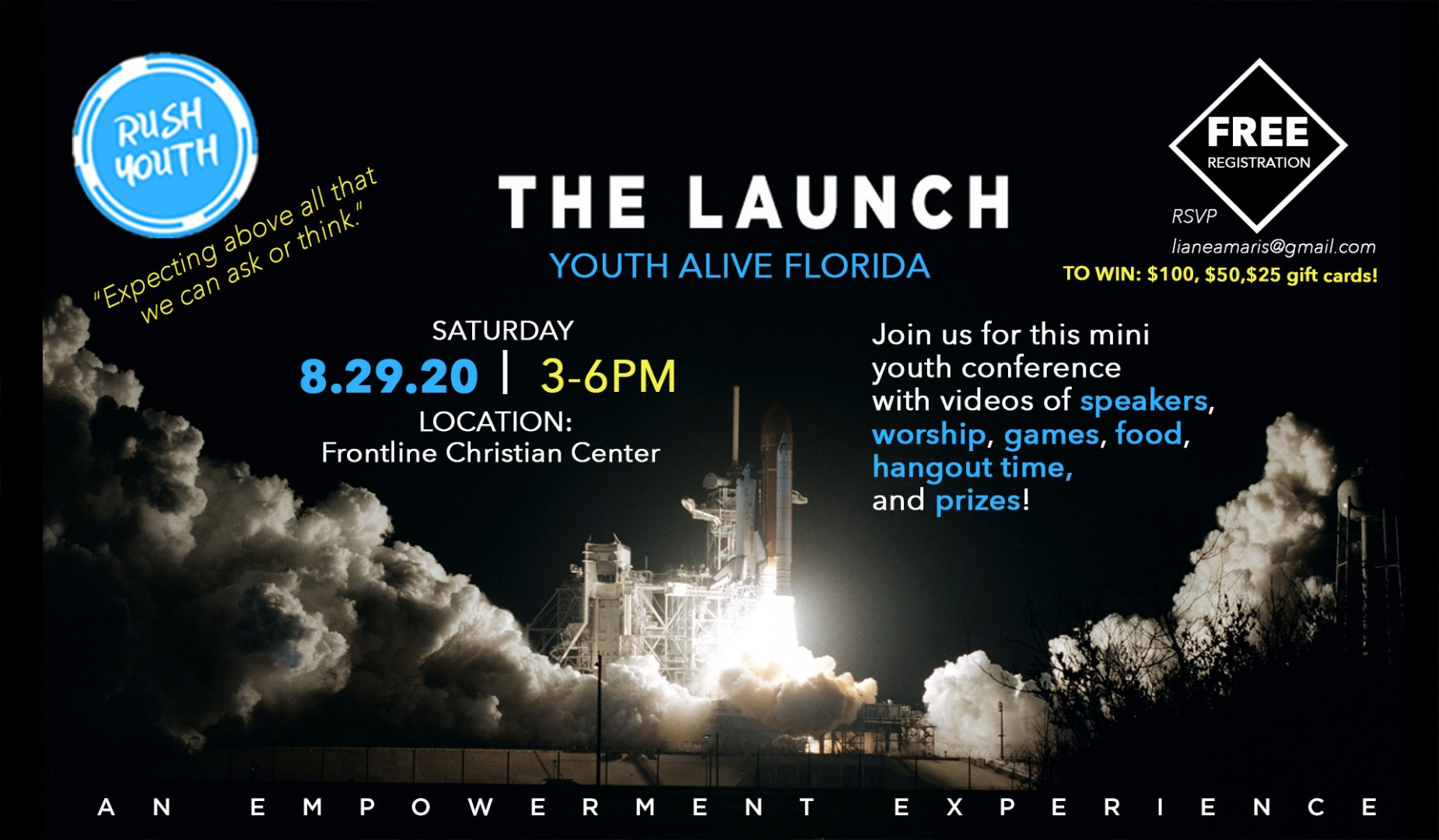 The Launch - Youth Alive Florida