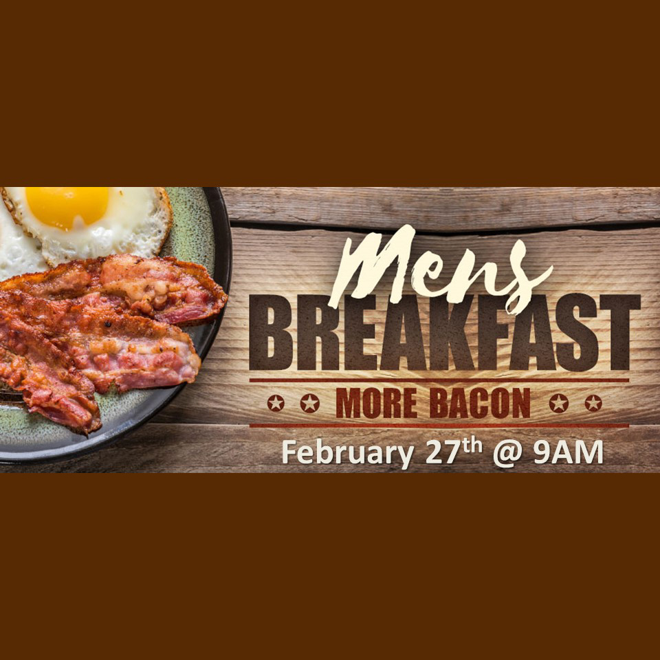 Men's Breakfast Flyer - February 27