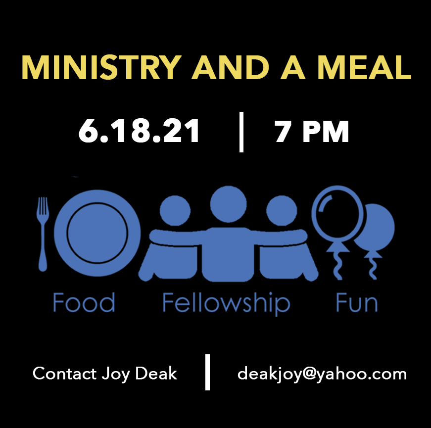 Ministry and a Meal Flyer