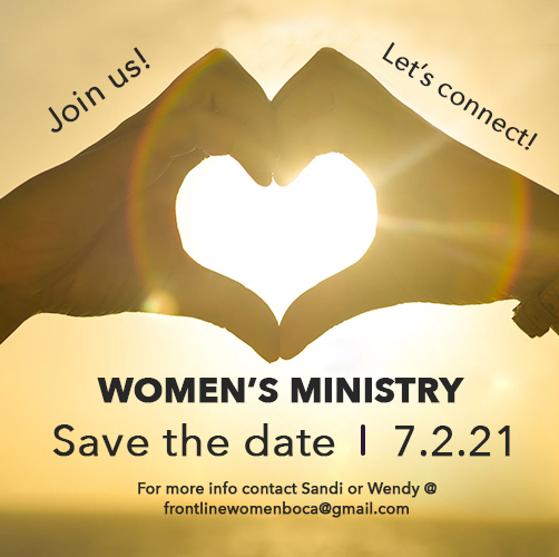 Women's Ministry Save the Date Flyer