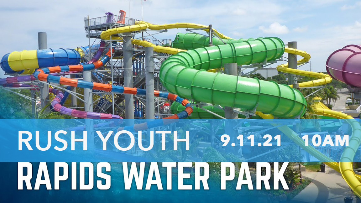 Rush Youth Flyer for Rapids Water Park